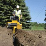 RTX130 trencher Vermeer tree care