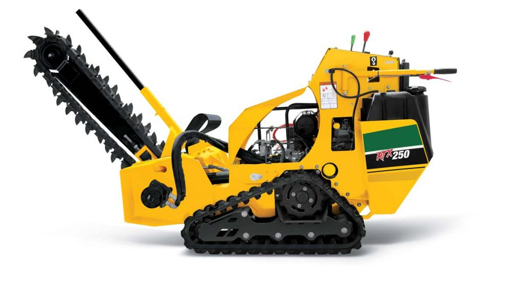 RTX250 trencher vermeer tree care