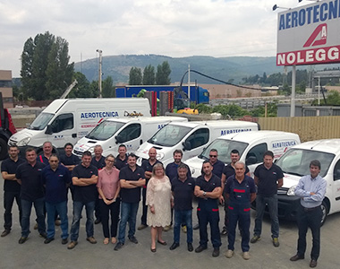 Team Aerotecnica Rent centro noleggio Vermeer